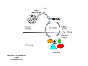 AiREAS is het eerst Sustainocratische proces in een concreet gebied. Een Sustainocratisch centrum voedt de lokale economie met vernieuwende waarden.