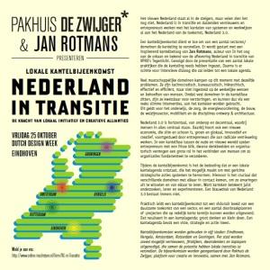Flyer Nederland in Transitie