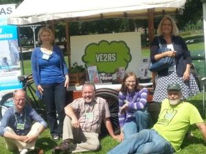 Een deel van het VE2RS team
