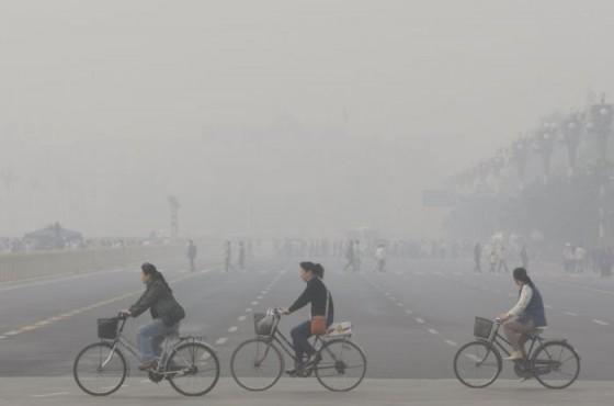 Gelukkig is de luchtkwaliteit in Eindhoven beter dan in Beijing (China).