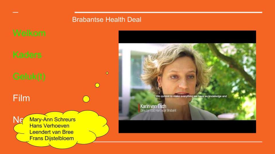Geluk(t) health deal